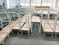 metal shopping carts for sale